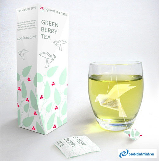 Túi trà Origami Tea