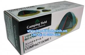 Hộp giấy compact dome 1 đựng lều trại